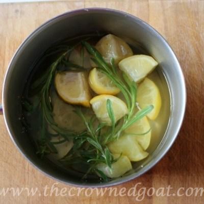 Lemon and Lavender Mason Jar Simmer Pot