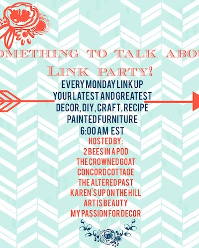 Something to Talk About Link Party #9