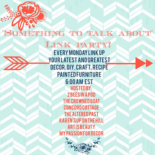 link-party Something to Talk About Link Party #9 LinkParty