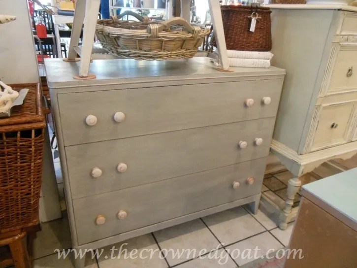 021715-13 Painted Buffet in Annie Sloan Chalk Paint French Linen Painted Furniture