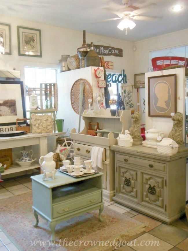 050115-9 Annie Sloan Chalk Duck Egg Painted Cabinet Painted Furniture
