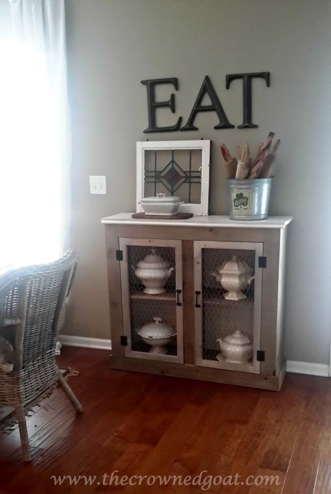 060915-1 Three Drawer Dresser Makeover Painted Furniture