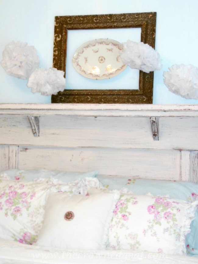 How-to-Make-a-Headboard-from-an-Old-Mantel-The-Crowned-Goat-062515-12 How to Make a Headboard From an Old Mantel DIY