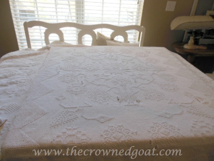 How to Make a Headboard from an Old Mantel - The Crowned Goat - 062515-5