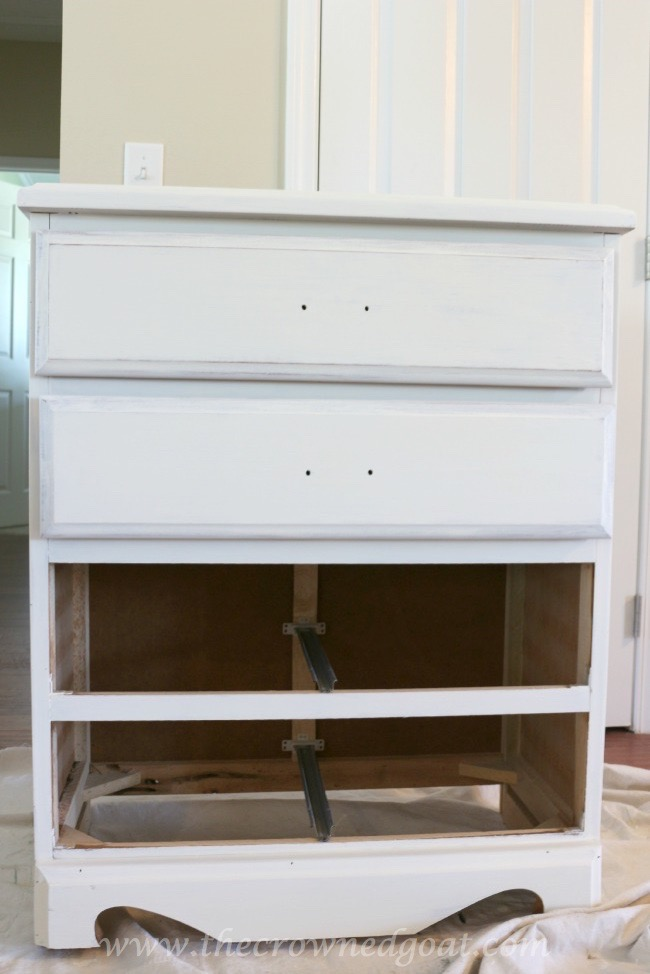 071415-2 Maison Blanche Painted Dresser Painted Furniture