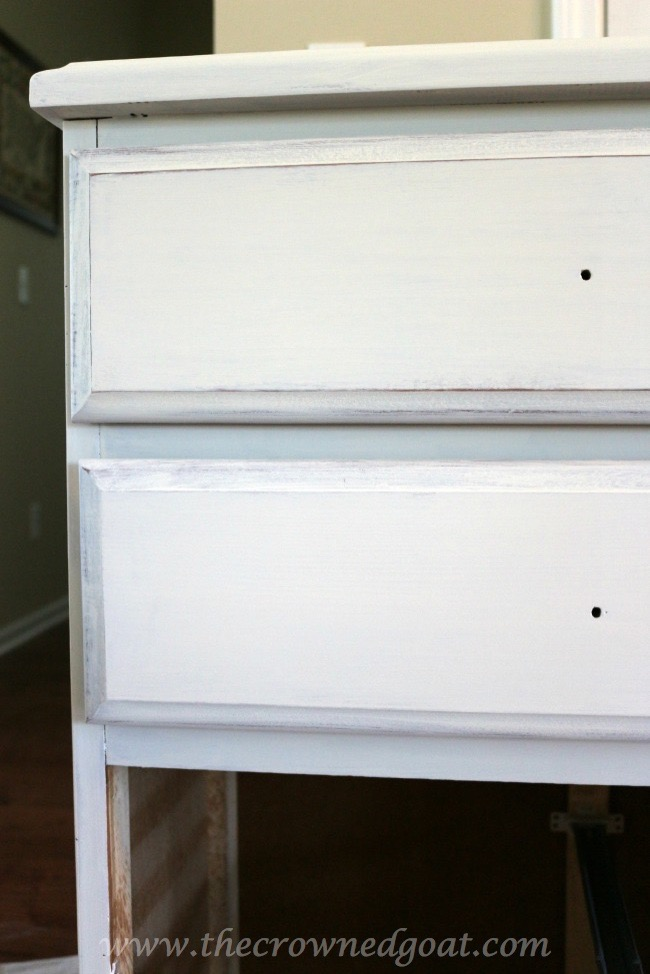 071415-5 Maison Blanche Painted Dresser Painted Furniture