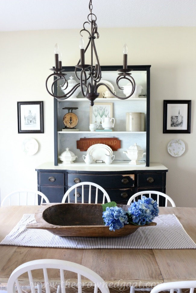072315-10-Using-Vintage-Finds-to-Style-a-China-Hutch-The-Crowned-Goat- House Tour Uncategorized