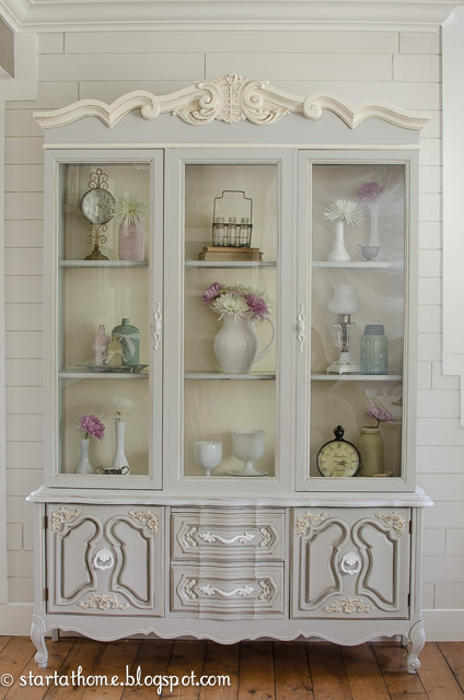 Start-at-Home-China-Cabinet Something to Talk About Link Party 27 LinkParty