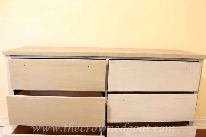 082015-3 French Linen Painted Dresser Painted Furniture