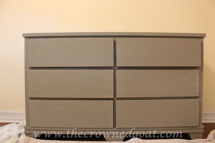 082015-4 French Linen Painted Dresser Painted Furniture