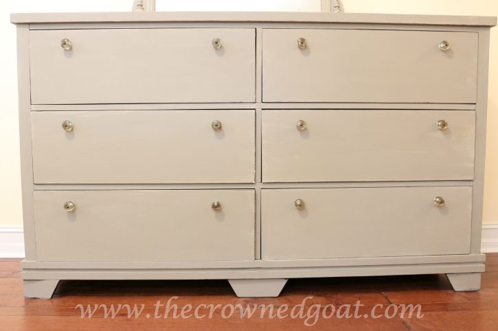 082015-5 French Linen Painted Dresser Painted Furniture