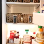 Organizing the Refrigerator with Budget Friendly Baskets