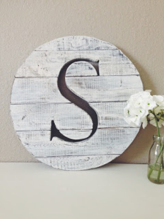 ShayRenovation-Pallet-Letter-Sign Something to Talk About Link Party 32 LinkParty