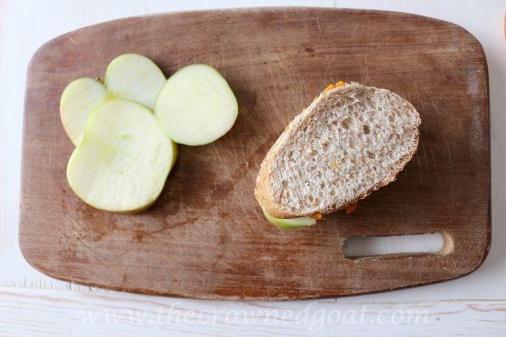 091115-6 Fall Inspired Honeycrisp Apple Panini Fall Holidays