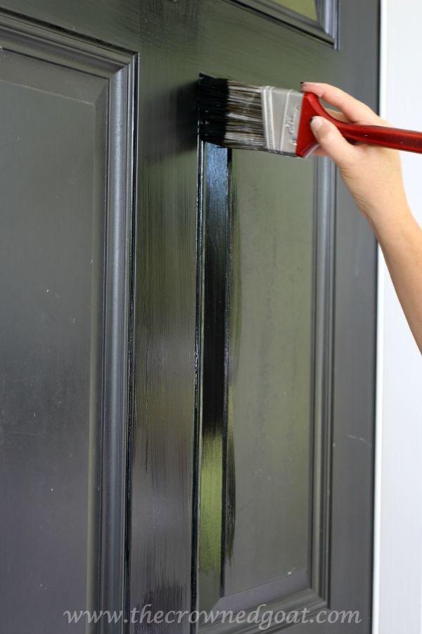 092315-14 Front Door Paint with Modern Masters DIY