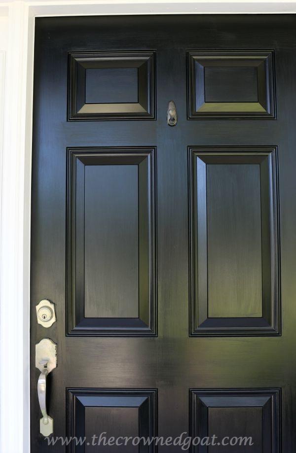 092315-17 Front Door Paint with Modern Masters DIY