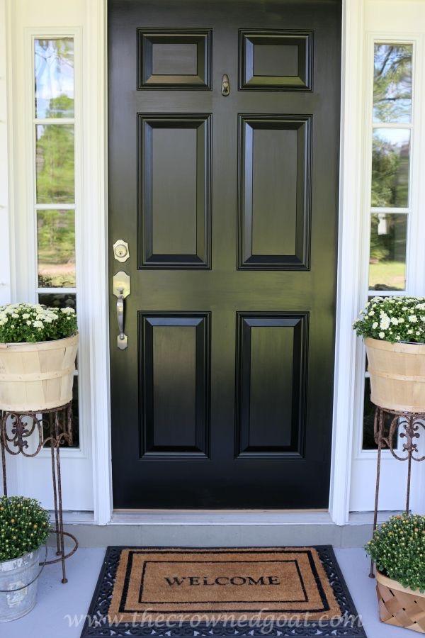 092315-19 Front Door Paint with Modern Masters DIY