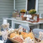 Outdoor Entertaining: Fall Inspired Back Patio