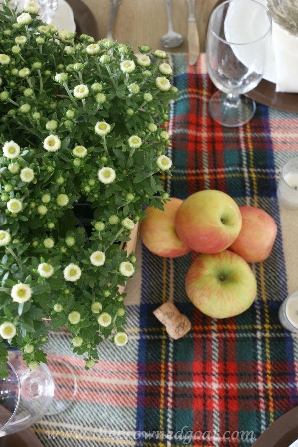 Fall-Inspired-Tablescape-100815-14 Autumn Apples Inspired Home Tour Decorating