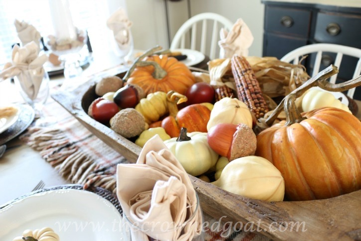 110515-6 Thanksgiving Inspired Tablescape Decorating Holidays
