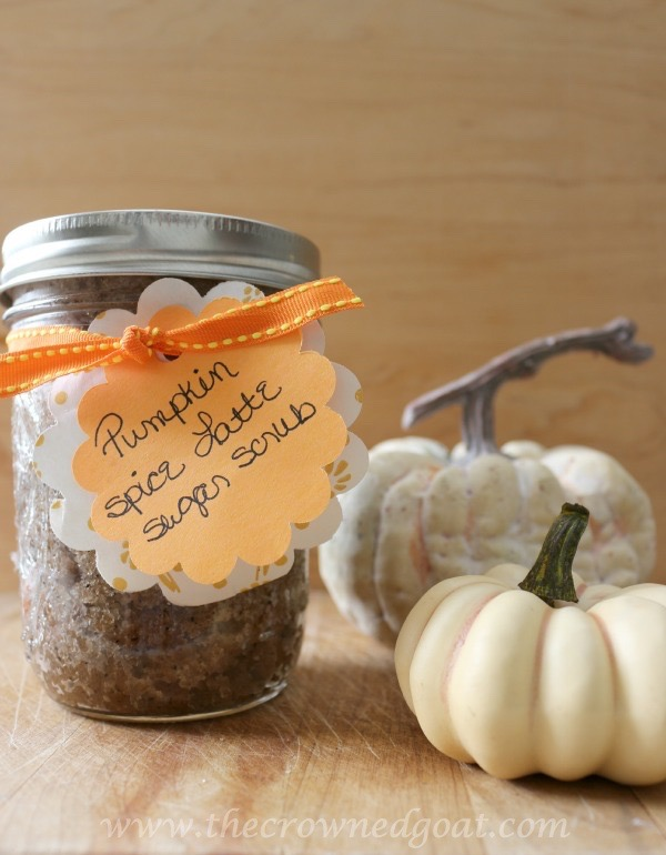 111915-9 Easy Pumpkin Spice Latte Sugar Scrub Fall Holidays