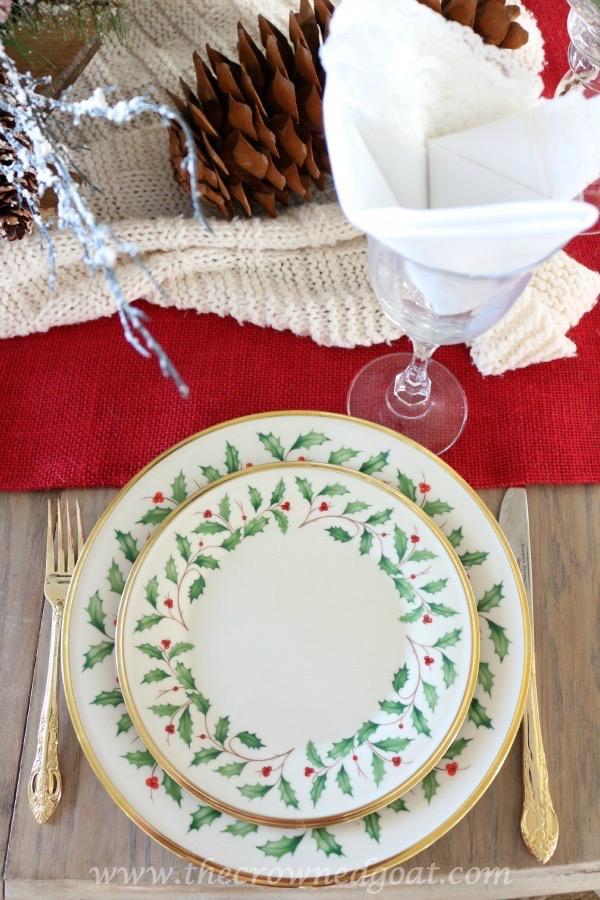 120115-25 Merry Christmas Tour of Homes Blog Hop Christmas Decorating Holidays