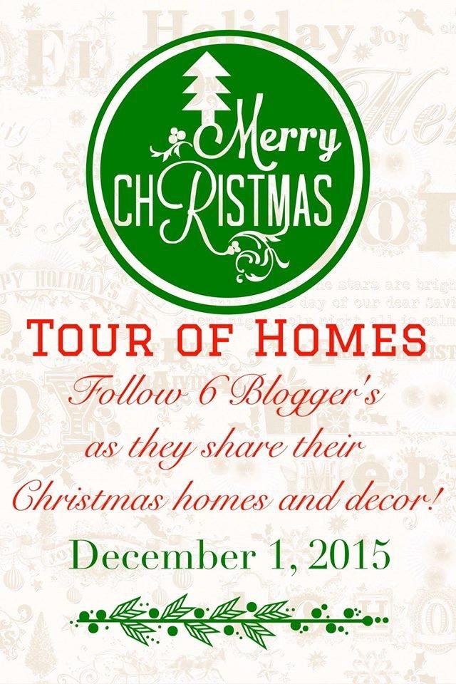 2015-Christmas-Tour-of-Homes-Blog-Hop Merry Christmas Tour of Homes Blog Hop Christmas Decorating Holidays