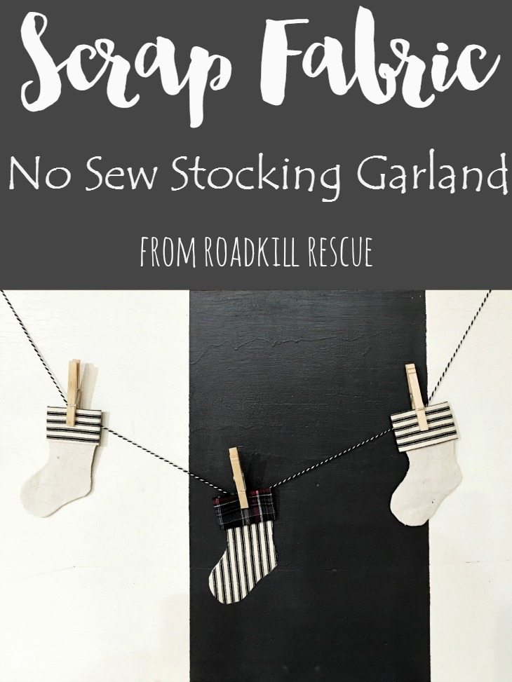 Scrap-Fabric-No-Sew-Stocking-Garland-from-RoadKill-Rescue