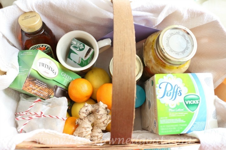 How to Create a Wellness Basket - The Crowned Goat