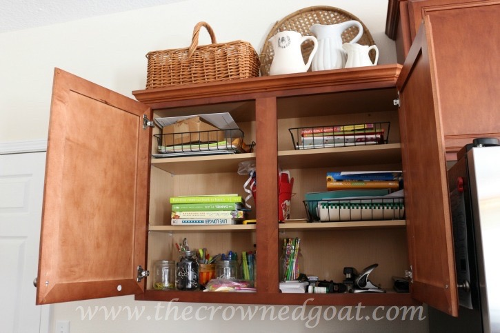 020216-2 How to Organize a Kitchen Desk Organization