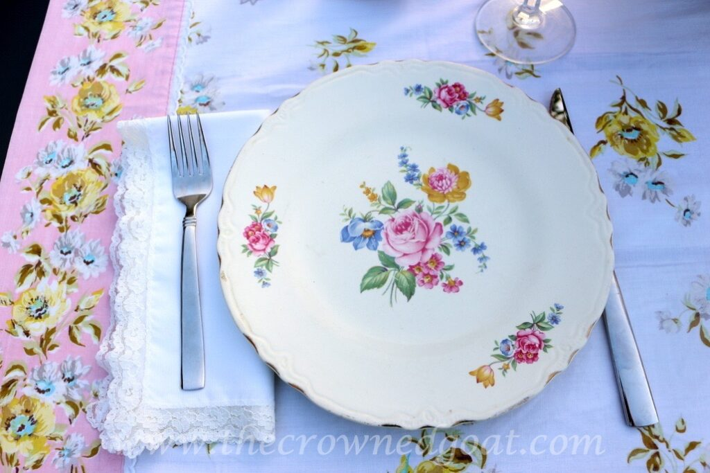 031716-3-1024x683 Vintage Inspired Spring Tablescape Decorating DIY Spring