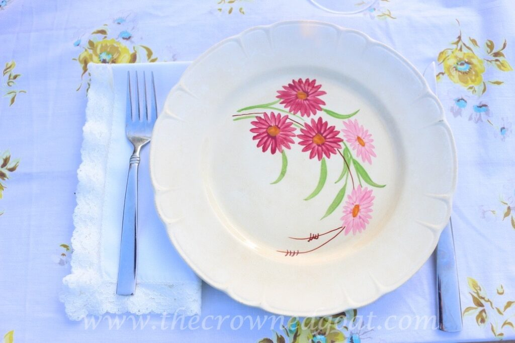 031716-6-1024x683 Vintage Inspired Spring Tablescape Decorating DIY Spring