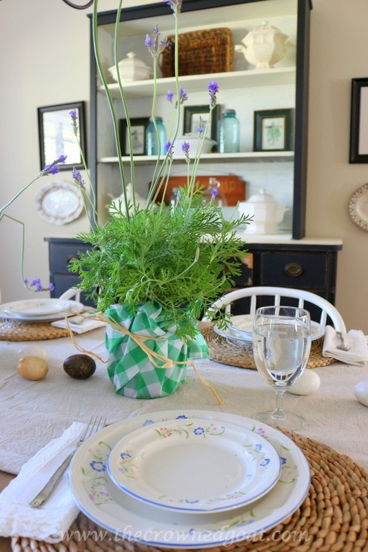 032416-2 Spring Inspired Dining Room Decorating DIY Spring
