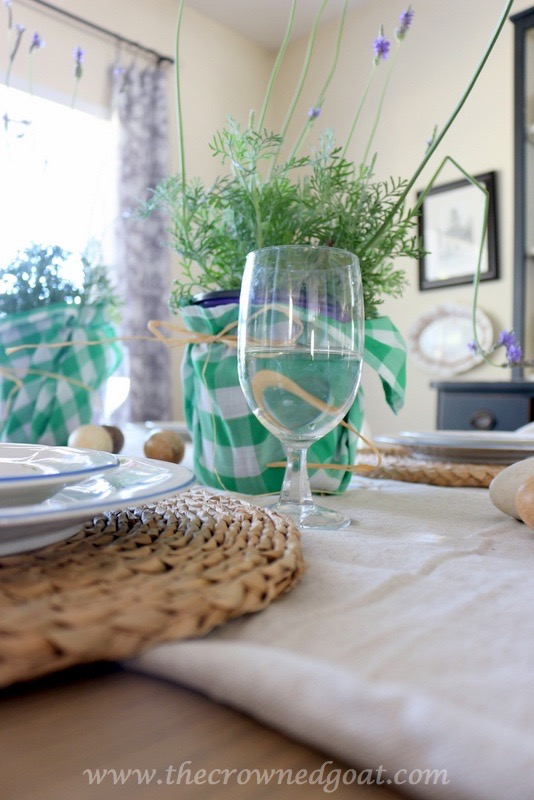 032416-7 Spring Inspired Dining Room Decorating DIY Spring