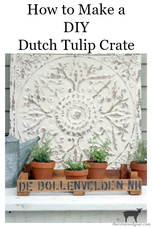 DIY-Dutch-Tulip-Crate-The-Crowned-Goat-22 DIY Dutch Tulip Crate Decorating DIY Spring