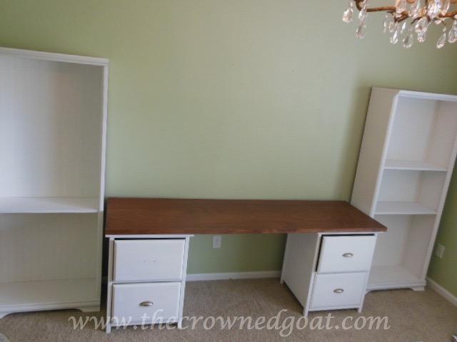 041916-2 Office Work Island DIY Painted Furniture
