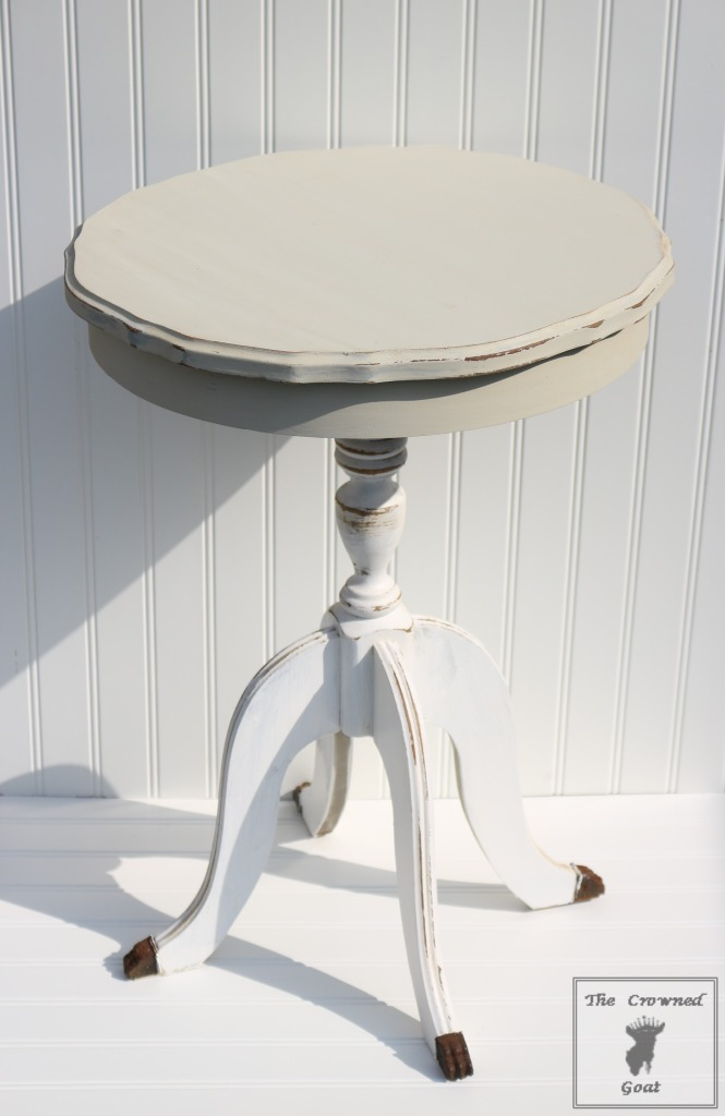 050916-6-665x1024 End Table and Side Table Painting Tips DIY Painted Furniture