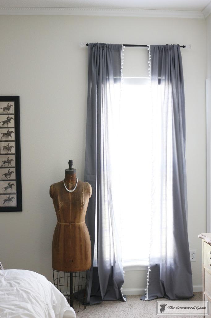 060816-10-682x1024 No Sew Pom-Pom Curtains Decorating DIY