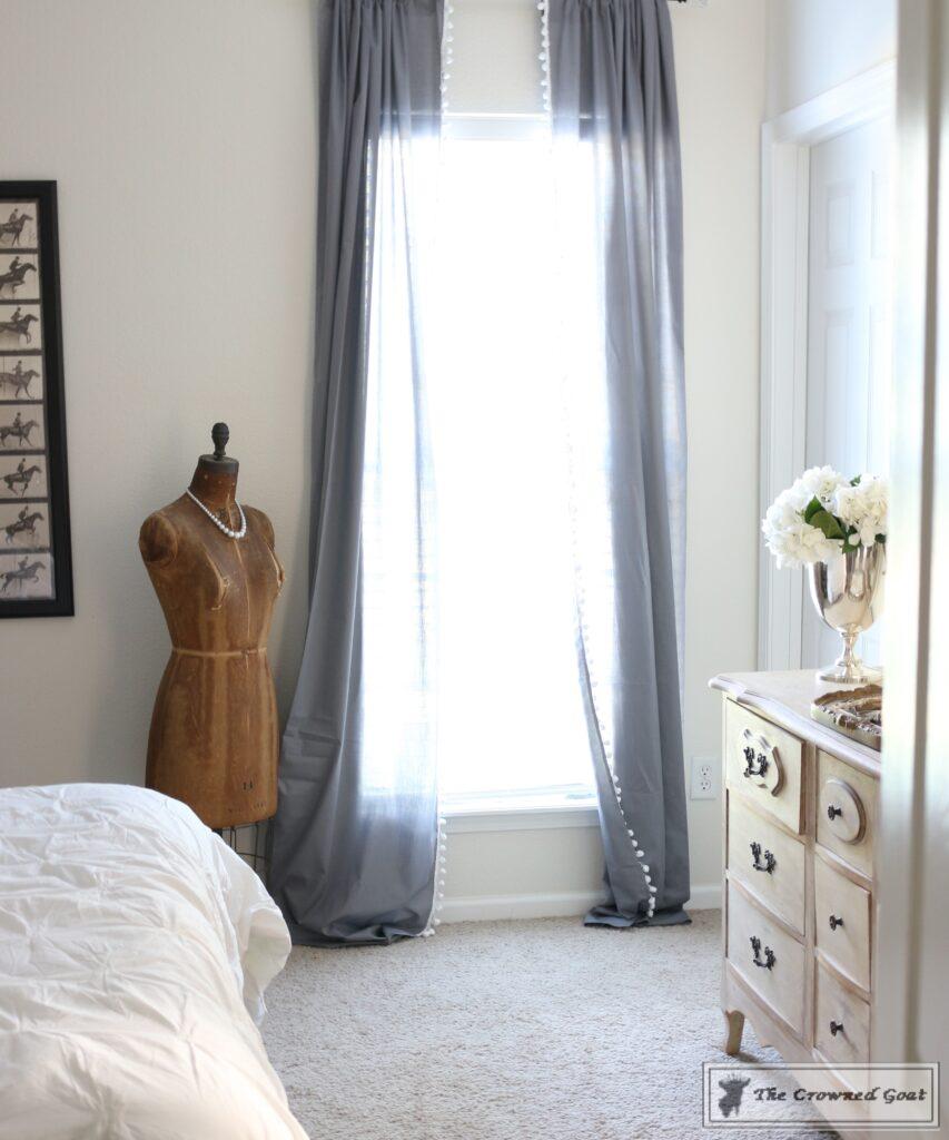 060816-13-853x1024 No Sew Pom-Pom Curtains Decorating DIY