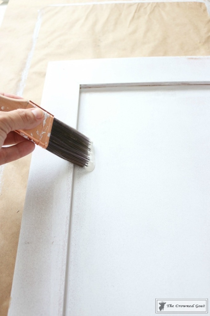 072216-18-682x1024 Painting a Bathroom Cabinet with General Finishes Milk Paint DIY Painted Furniture