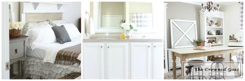 Budget-Friendly-Bathroom-Makeover-16 Budget Friendly Bathroom Makeover Reveal  Decorating DIY Painted Furniture