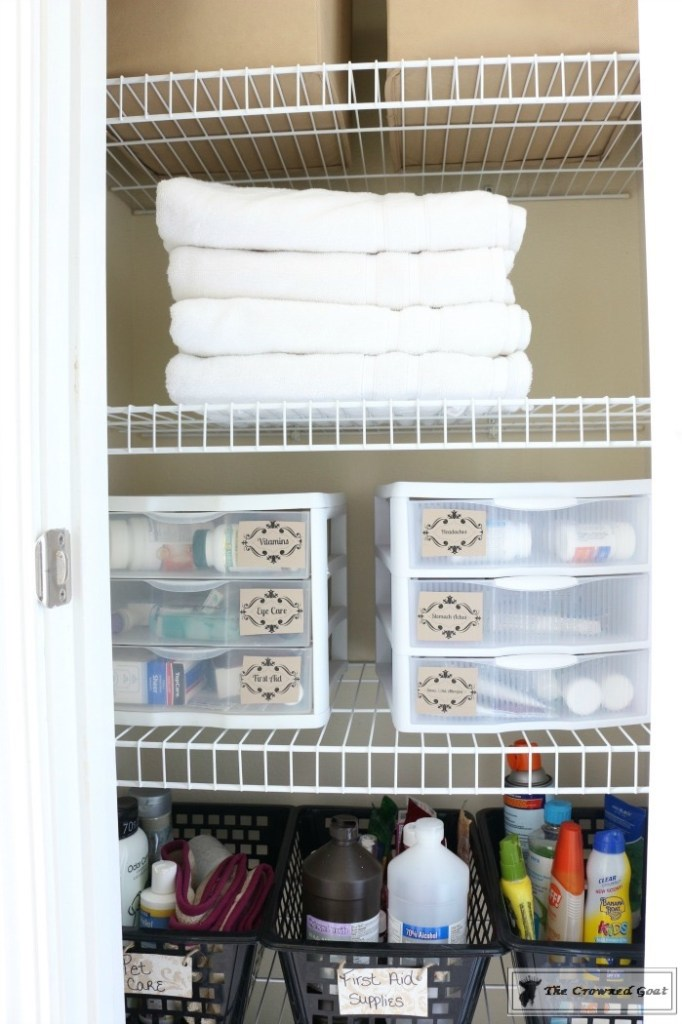 How-to-Keep-Linen-Closets-Organized-10-682x1024 How to Keep Linen Closets Organized and Maintained  DIY Organization