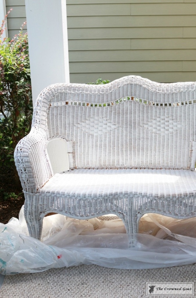 Painting-Wicker-Patio-Furniture-4-674x1024 Painting Wicker Patio Furniture Painted Furniture