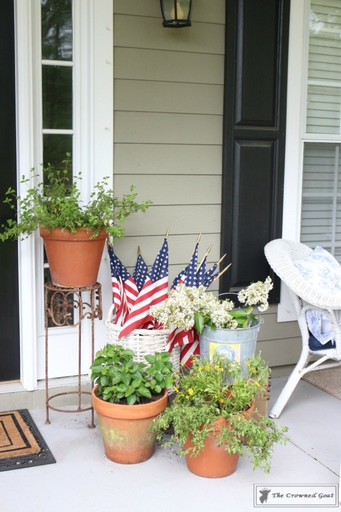 Patriotic Summer Porch - 10