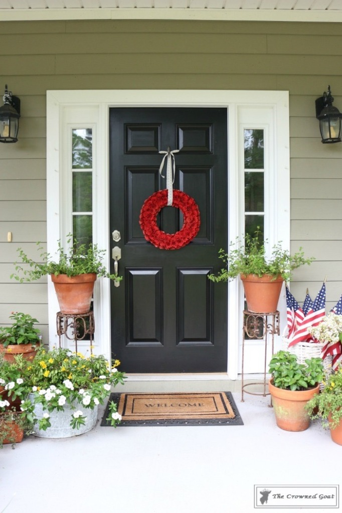 Patriotic-Summer-Porch-2-682x1024 Patriotic Summer Porch Tour Decorating DIY Summer