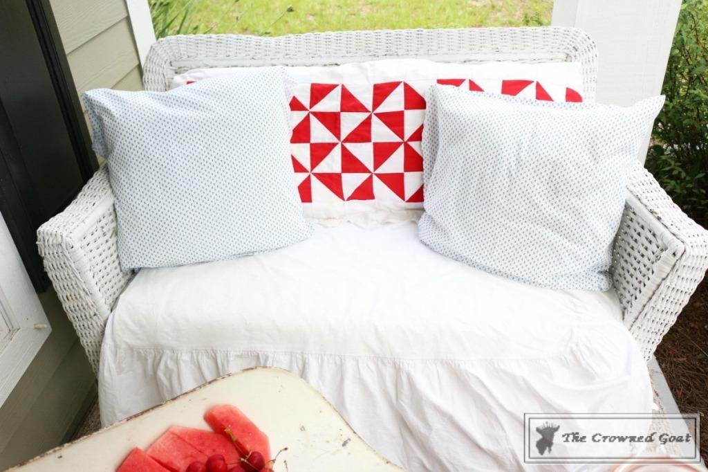 Patriotic-Summer-Porch-7-1024x682 Patriotic Summer Porch Tour Decorating DIY Summer