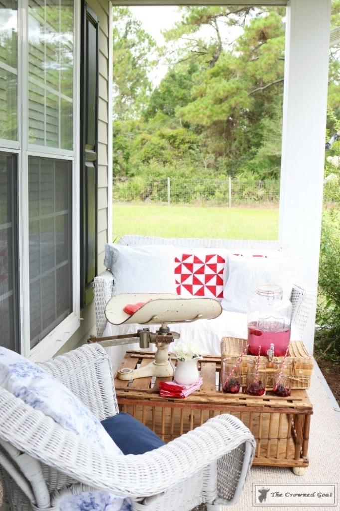 Patriotic-Summer-Porch-9-682x1024 Patriotic Summer Porch Tour Decorating DIY Summer