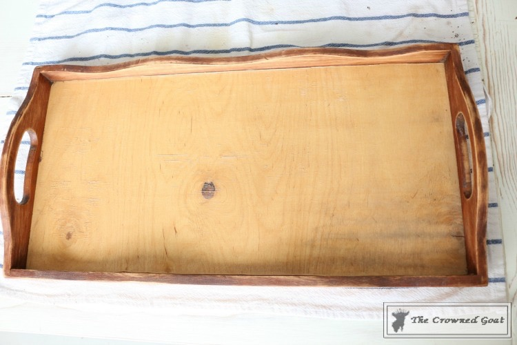DIY-Tea-Stain-for-a-Simple-Tray-Makeover-8 DIY Tea Stain for a Simple Tray Makeover DIY