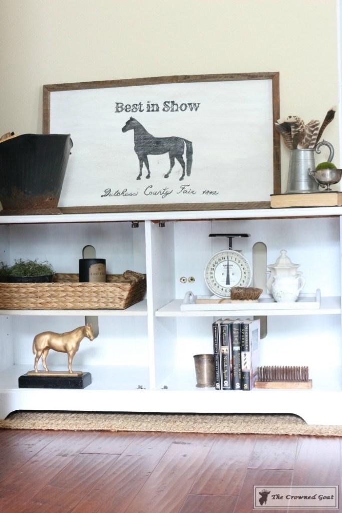 Snow-White-Media-Cabinet-Makeover-11-683x1024 Media Cabinet Makeover in GF Snow White Painted Furniture