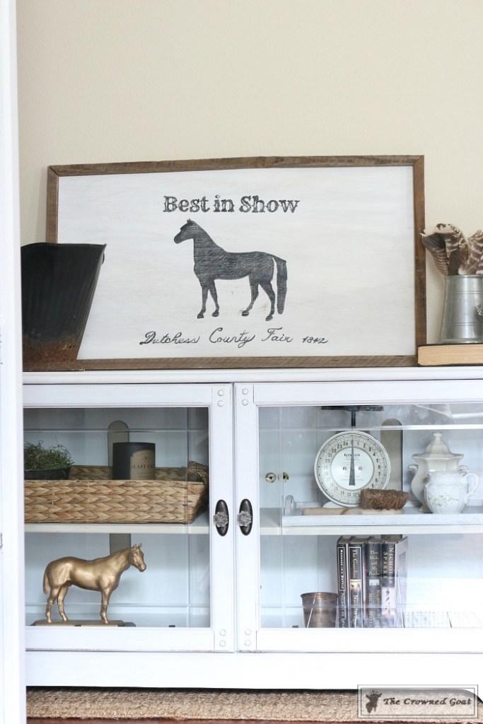 Snow-White-Media-Cabinet-Makeover-12-683x1024 Media Cabinet Makeover in GF Snow White Painted Furniture